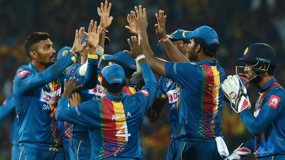 Sri Lanka finally broke their seven-match T20 losing run against India on Tuesday. (AFP)