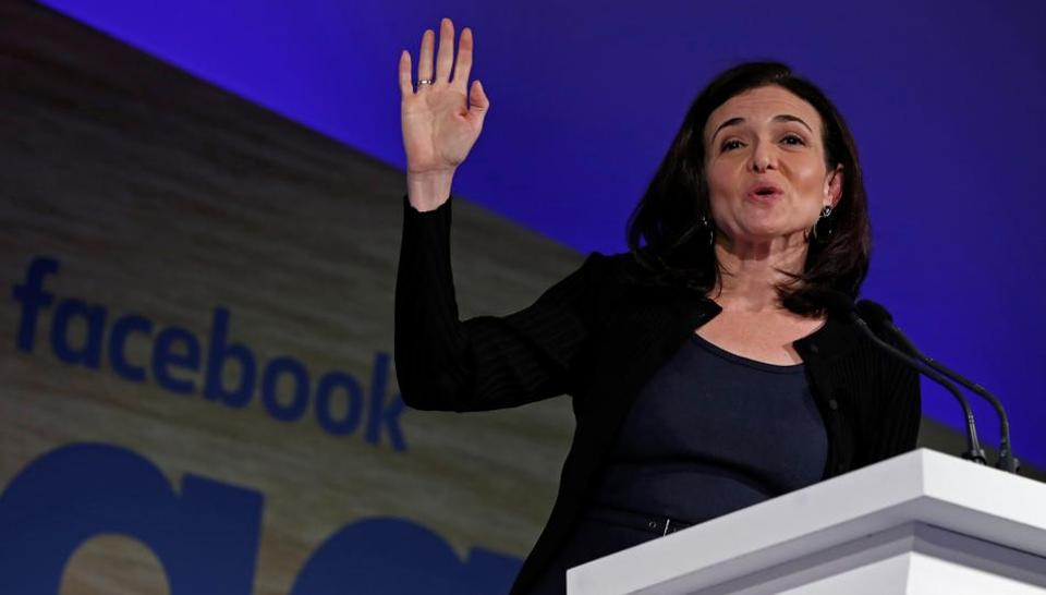 Women like Sheryl Sandberg are great role models for women in corporate roles, hoping to break the glass ceiling