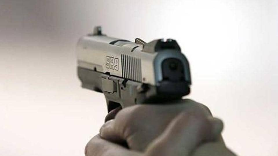 A 45-yaer-old school  principal  was shot dead by three assailants in outer Delhi.