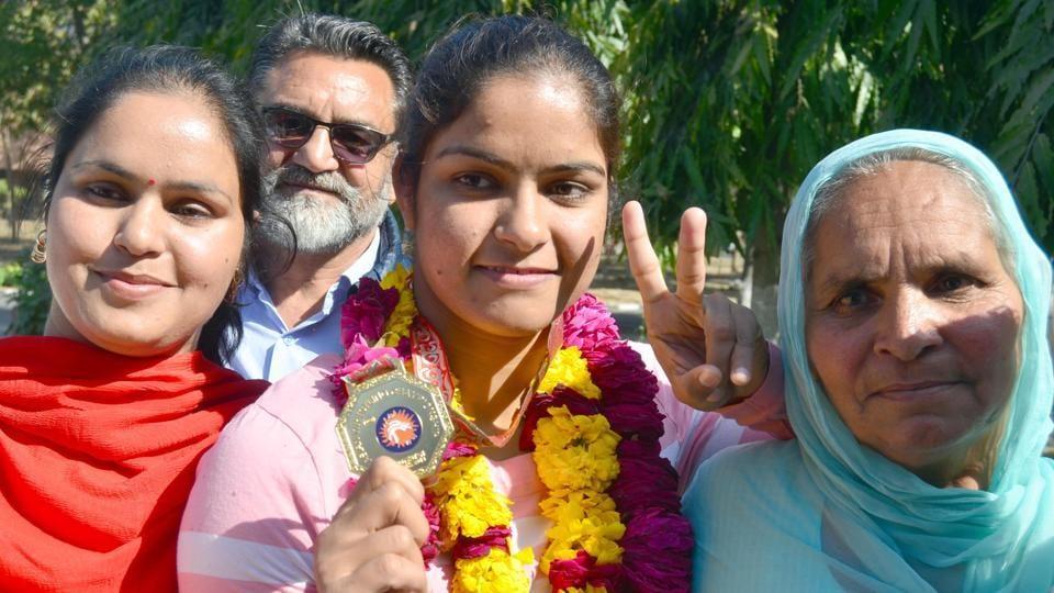 Shiromani Akali Dal seeks DSP post for wrestler Navjot Kaur