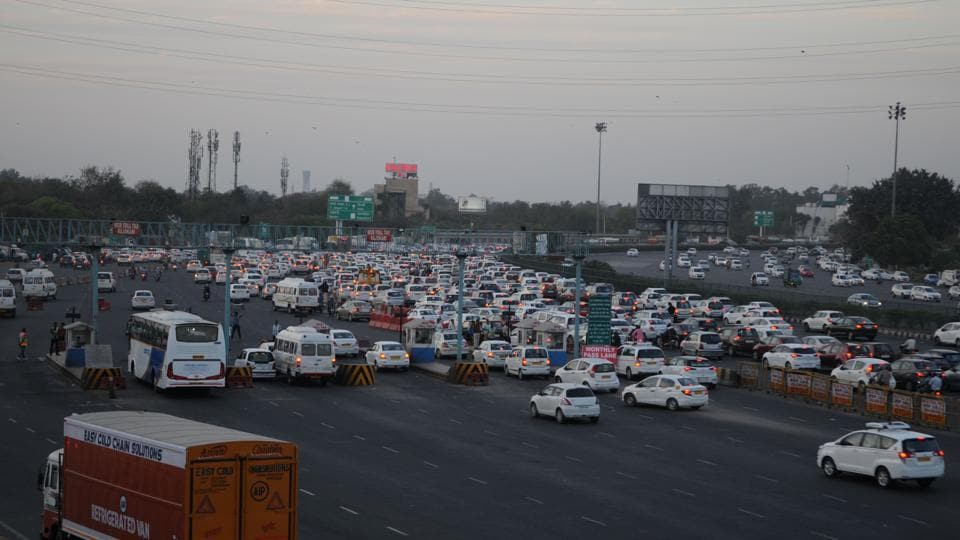 On Tuesday evening, the traffic situation improved noticeably in the area, for the first time in recent months.