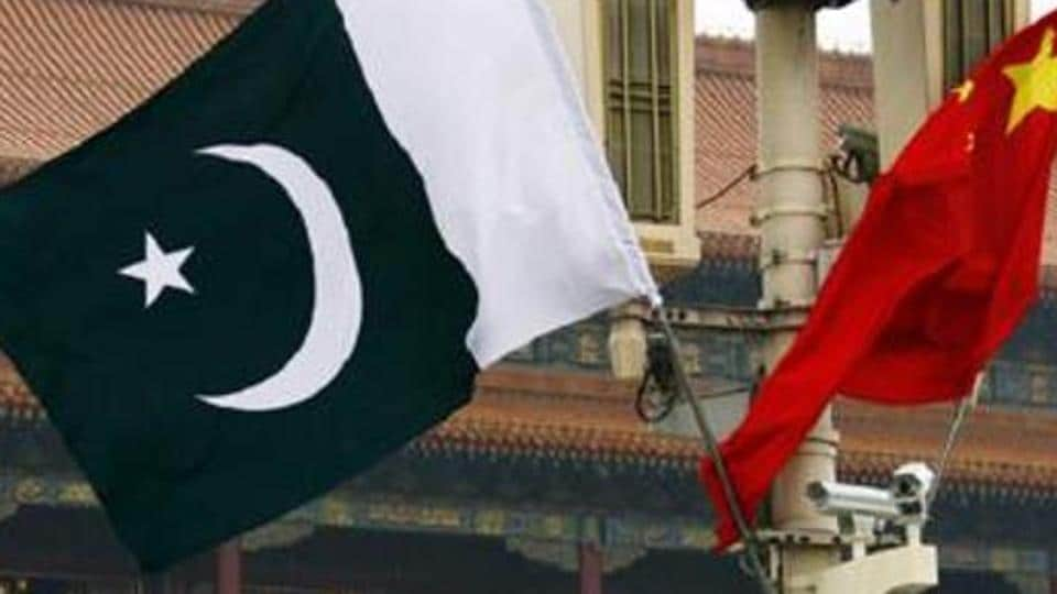 Pakistan and Chinese national flags at Beijing's Tiananmen Square. The Pakistan's government was in the process of scrutinising the loan term sheets and the agreement between the two nations was expected to be reached in March.