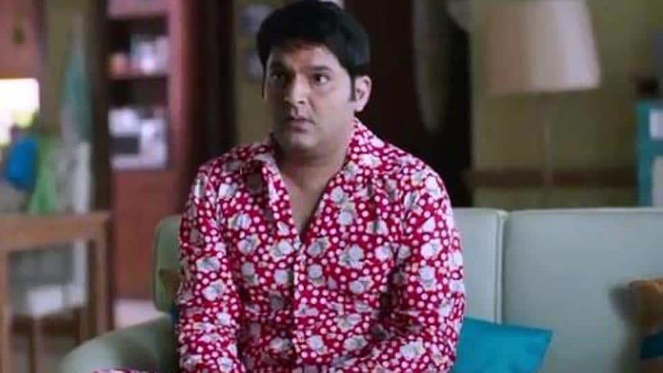 Kapil Sharma in the promo for his new show.