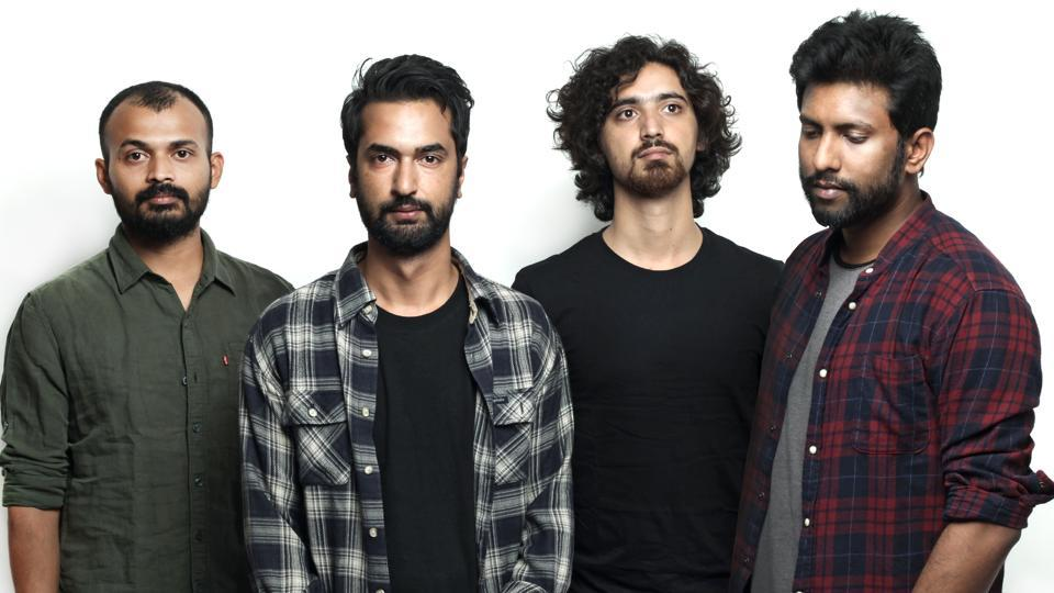 Parvaaz is a Bangalore-based rock band that blends sounds of Kashmir in their music.