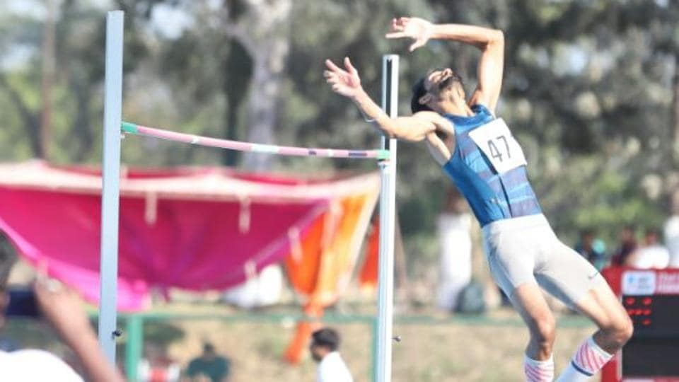 Tejaswin Shankar shattered his own national record of 2.26m while winning gold with an effort of 2.28m to book a Commonwealth Games berth during the Federation Cup National Senior Athletics Championships at the NIS Patiala on Wednesday.
