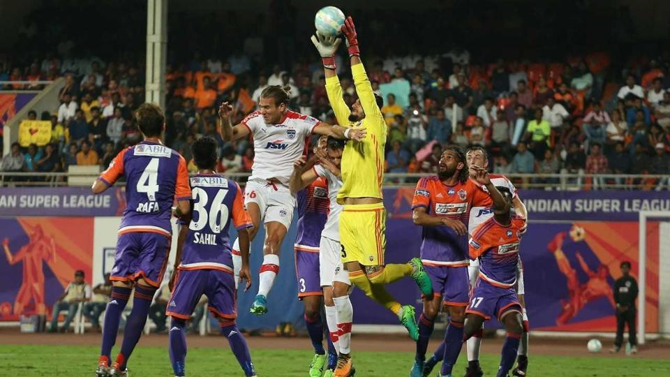 FCPune City played out a goalless draw in the first leg of their Indian Super League (ISL) semi-final vs Bengaluru FC in Pune on Wednesday.
