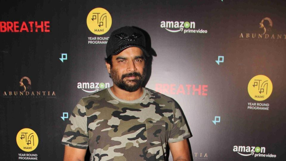 R Madhavan attended a screening of Breathe on January 23, 2018 in Mumbai.