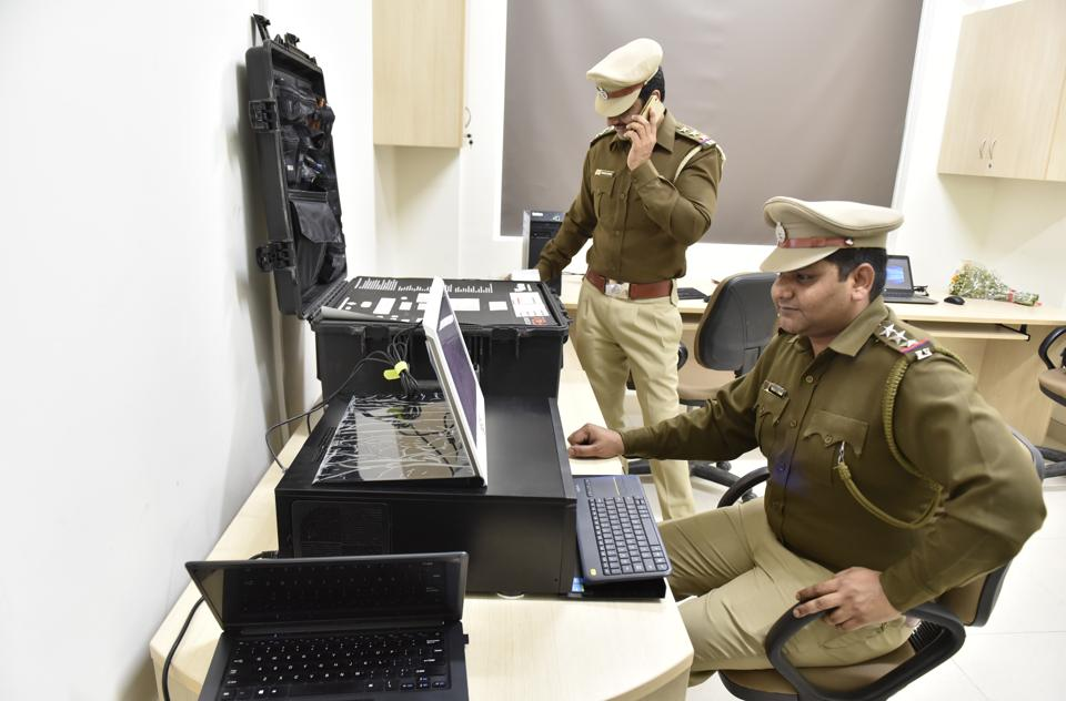 Gurgaon's first cyber crime police station up and running | gurgaon