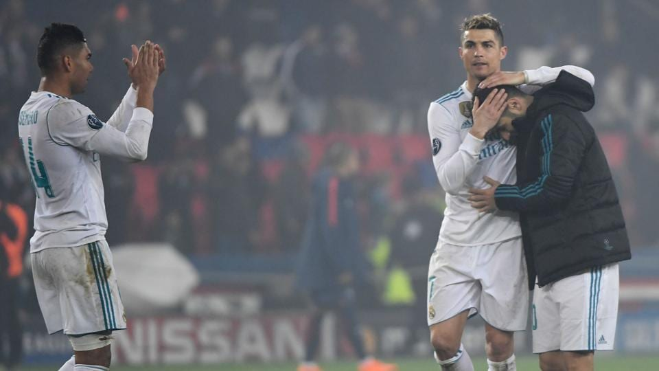 Cristiano Ronaldo Does It Again As Real Madrid Dump Psg Out Of