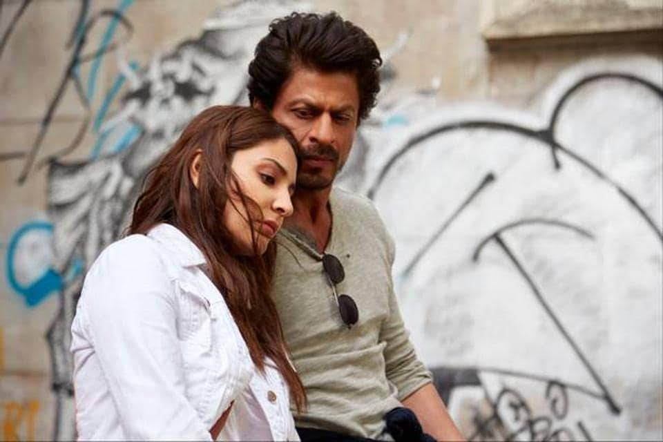 A still from Jab Harry Met Sejal - a Bollywood film that uses Hinglish in its title.