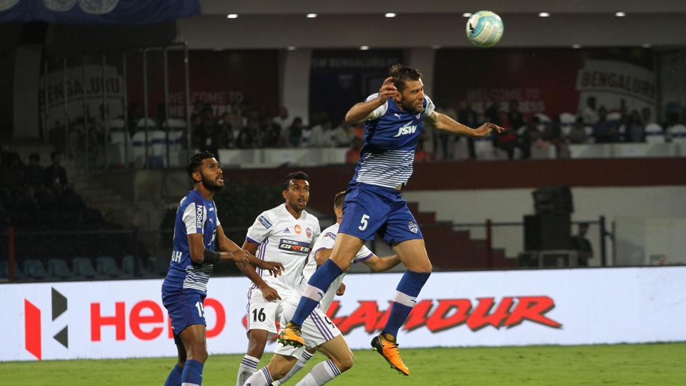 FC Pune City played out a 0-0 draw vs Bengaluru FC in the first leg of their Indian Super League (ISL) semi-final encounter at the Shree Shiv Chhatrapati Sports Complex in Pune today. Get highlights of FC Pune City vs Bengaluru FC, ISL semi-final, here.