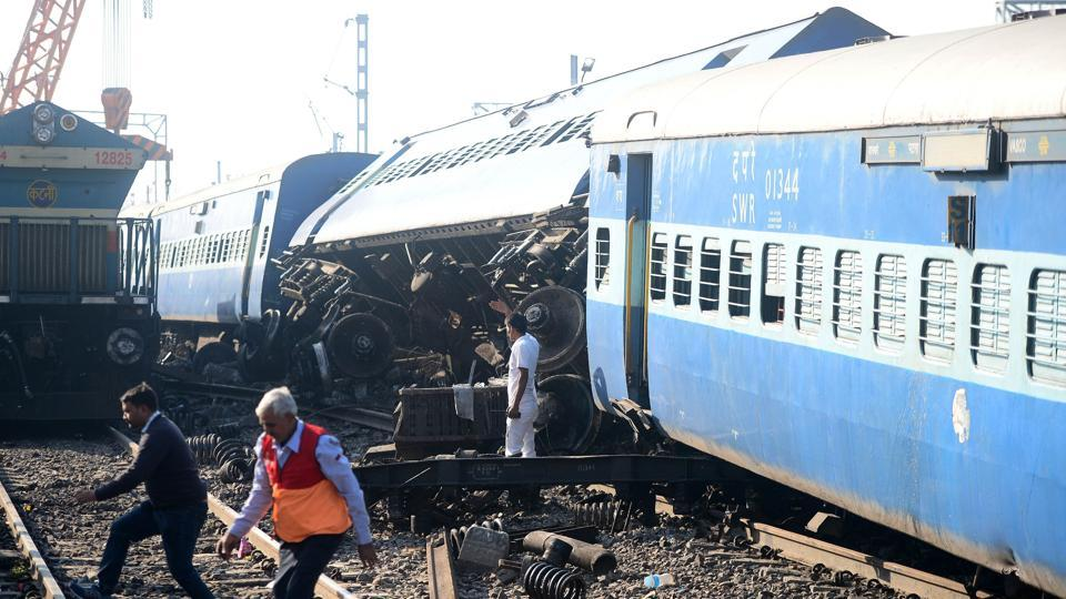 Train accidents in India,Train accident,Train accidents declined