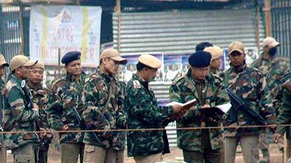 A bomb exploded outside the Manipur Sangai Tourism Festival in Imphal in 2011. There were two other explosions in Kamjong and Imphal West districts Tuesday night but there was no report of any casualty, the police said.