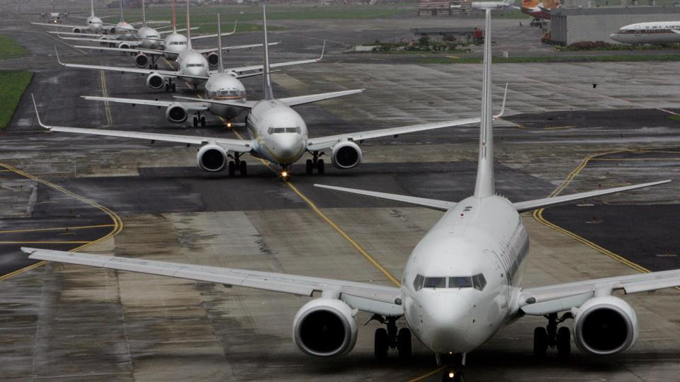 As both main and secondary runways were not available for twenty eight minutes, an initial delay of thirty minutes in flight movements was faced, which had reduced to nearly five minutes till 5pm.