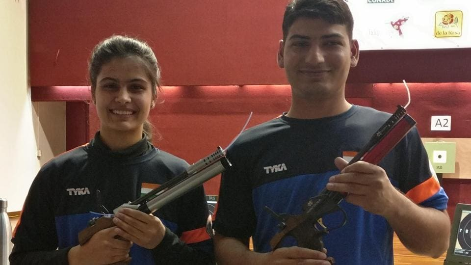 ISSF World Cup,Shooting world cup,Manu Bhaker