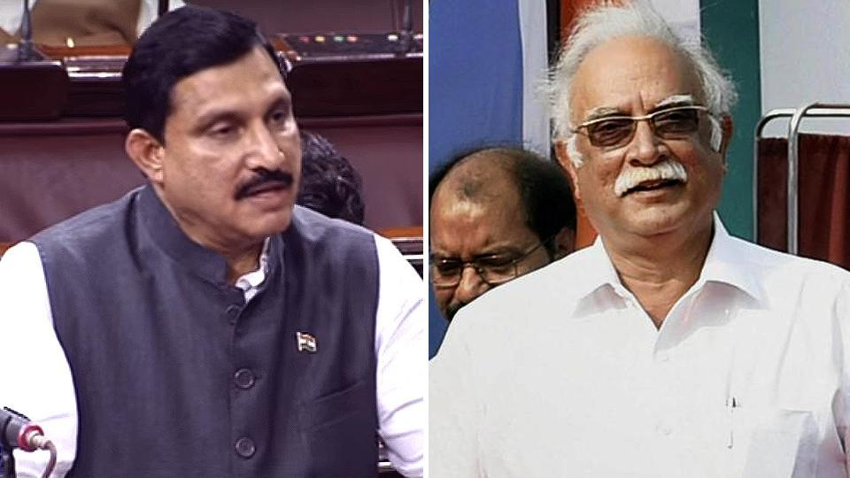 The two TDP ministers who have resigned from the Modi government are civil aviation minister Ashok Gajapathi Raju (right) and minister of state for science and technology YS Chowdary.