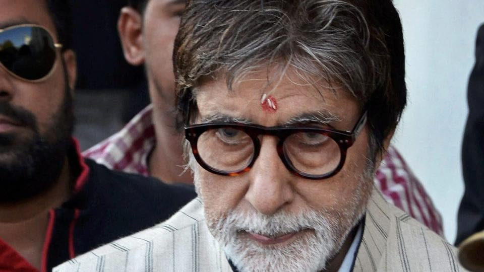 Big B shoots in Meharangarh Fort for 'Thugs Of Hindostan'