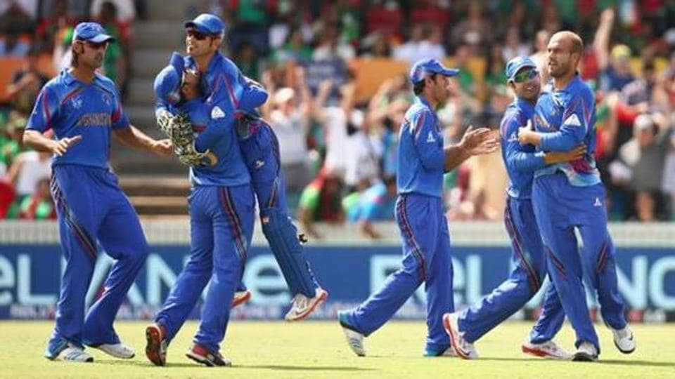 Afghanistan's cricket World Cup hopes all but over after Hong Kong loss