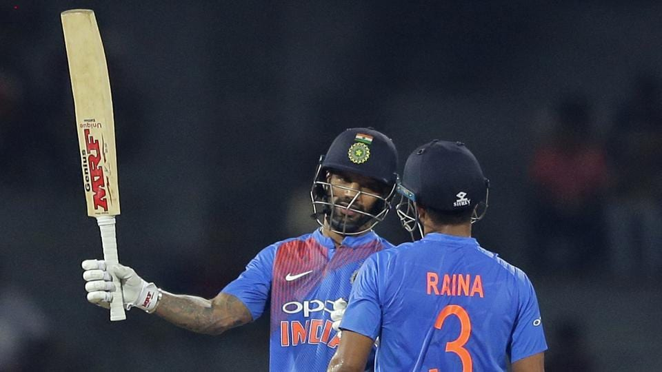 Shikhar Dhawan's 55 helped India beat Bangladesh by six wickets in the second game of the Nidahas Trophy in Colombo. (AP)