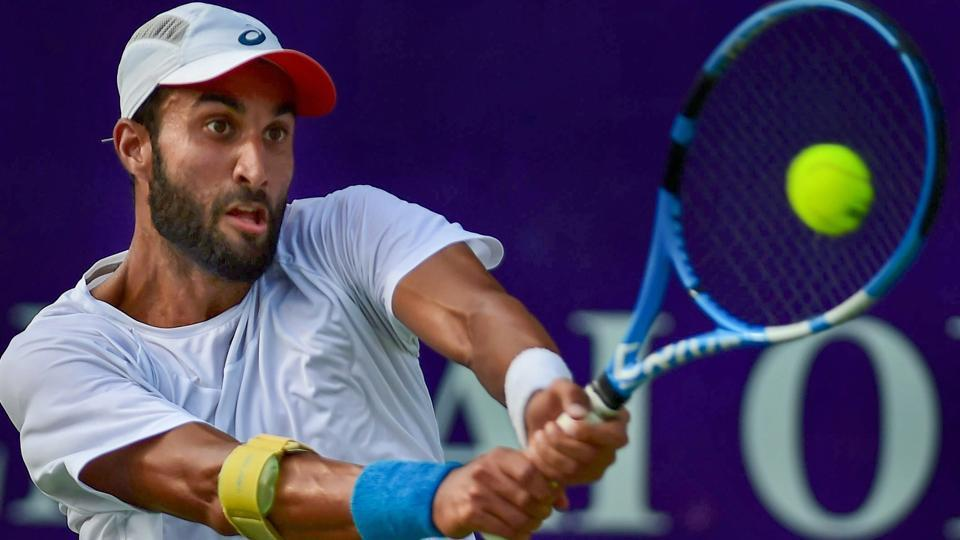 Yuki Bhambri defeated Ramkumar Ramanathan to qualify for the Indian Wells Masters tennis tournament on Thursday.