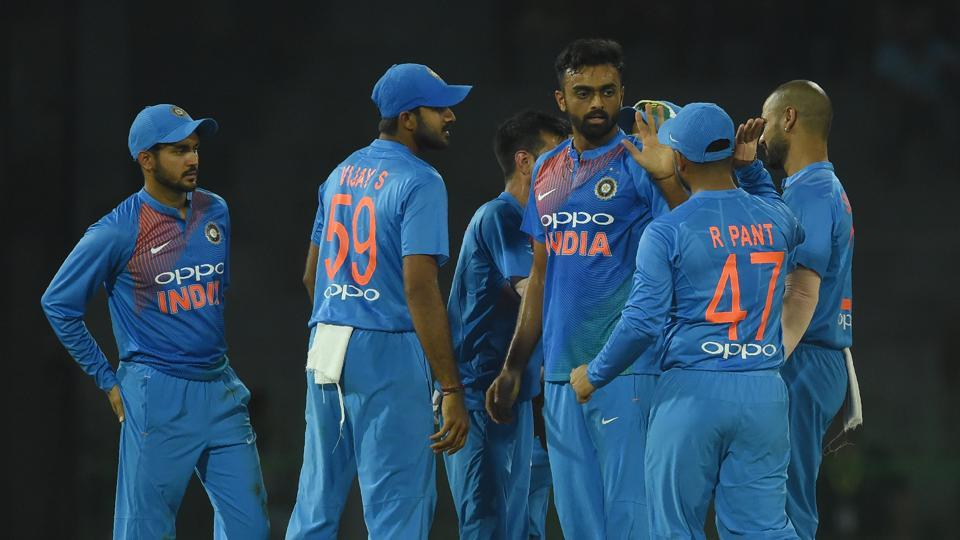 Unadkat took three wickets as Bangladesh were restricted to 139/8 in their 20 overs.  (AFP)