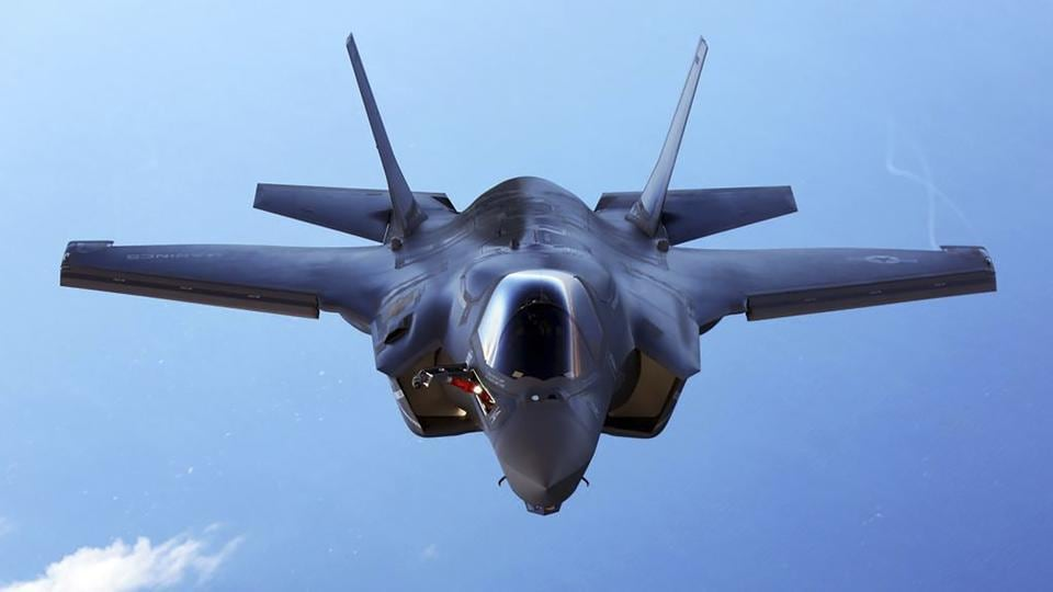 A US Marine Corps F-35B joint strike fighter jet. Logistically, almost none of our current weapons would be compatible with the F-35, meaning investing vast amounts in new air-to-air, ground and sea munitions, further complicating our already shambolic logistics (Representative Photo)
