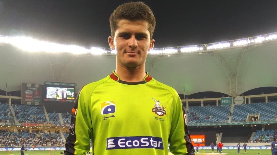 Shaheen Afridi was named Man of the Match in the game between Lahore Qalandars and Multan Sultans in Pakistan Super League.