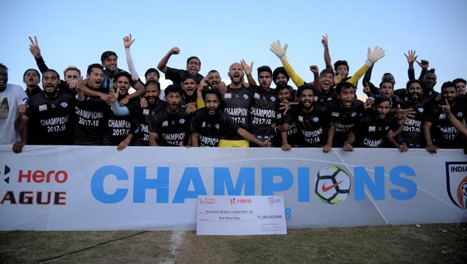 Minerva Punjab FC crowned I-League 2017-18 champions
