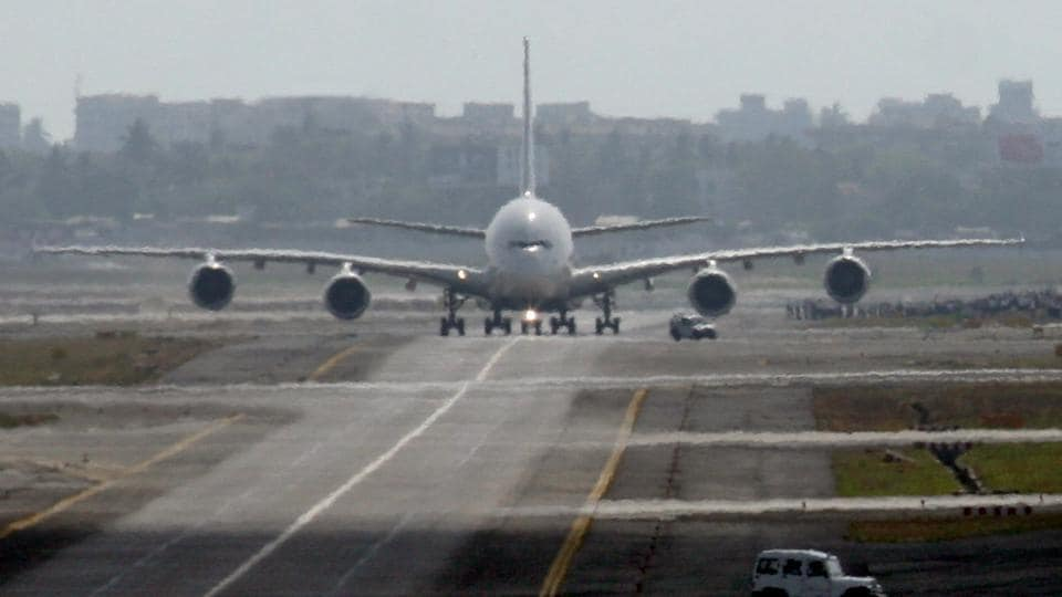 File photo of the Airbus A380 in Mumbai.