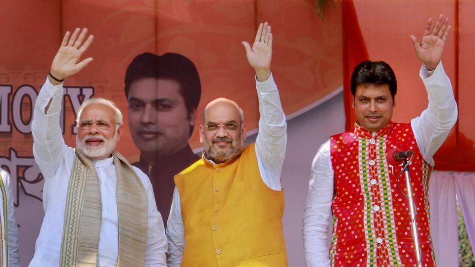 Tripura CM,Biplab Deb,Narendra Modi