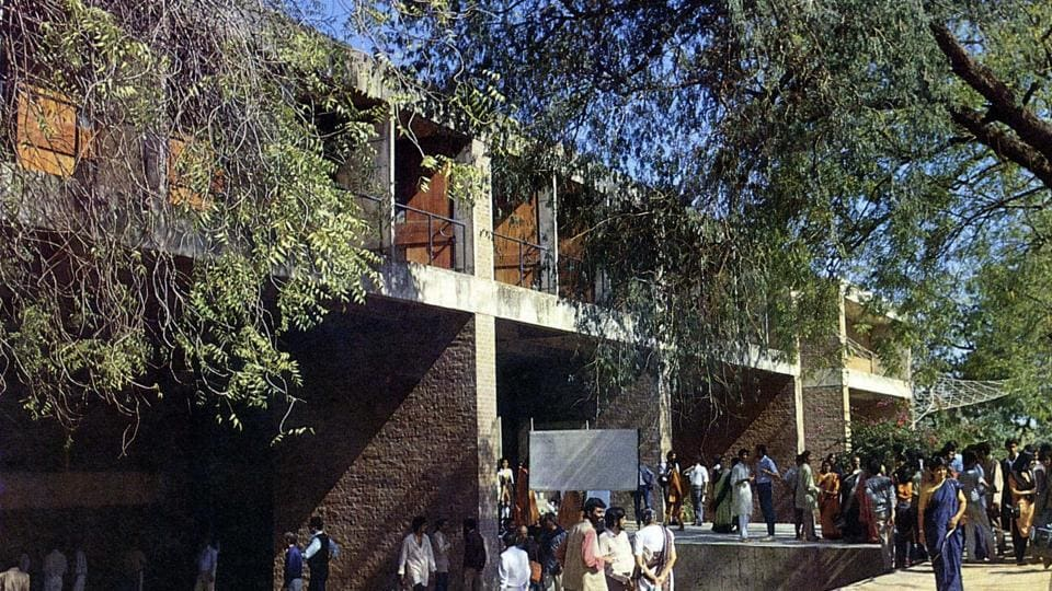 "A view of the Centre for Environmental Planning and Technology (CEPT) building in Ahmedabad. ""My works are an extension of my life, philosophy and dreams trying to create treasury of the architectural spirit,"" Doshi said in a statement thanking the Pritzker jury. The international prize, established by Chicago's Pritzker family in 1979, bestows laureates with $100,000 along with a bronze medallion.  (Vastu Shilpa Foundation)"
