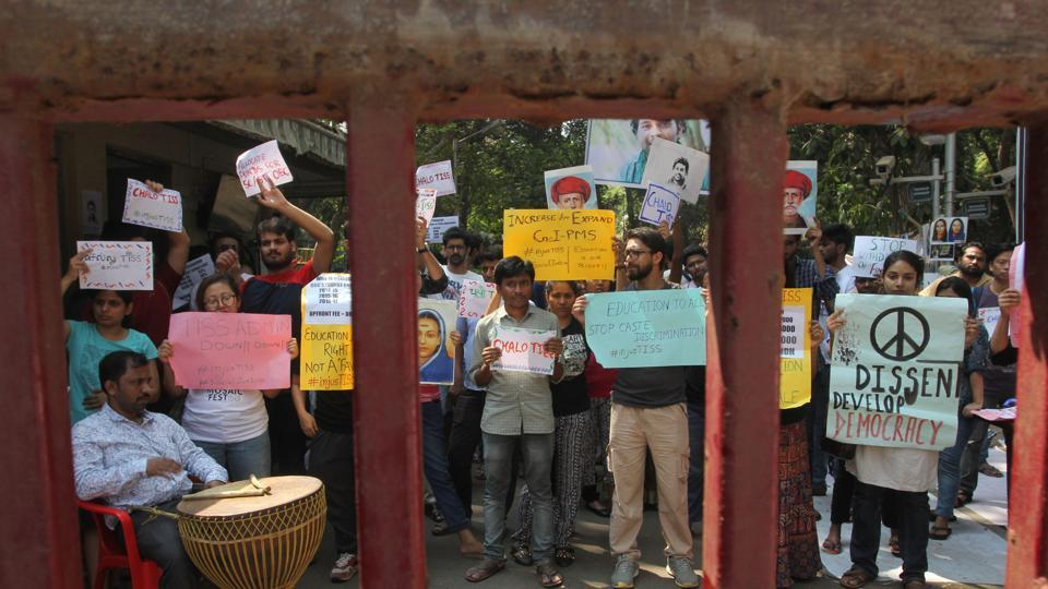 TISS protests,Tata Institute of Social Sciences,crowdfunding program