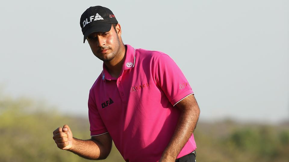 Shubhankar Sharma shatters course record, second at India Open