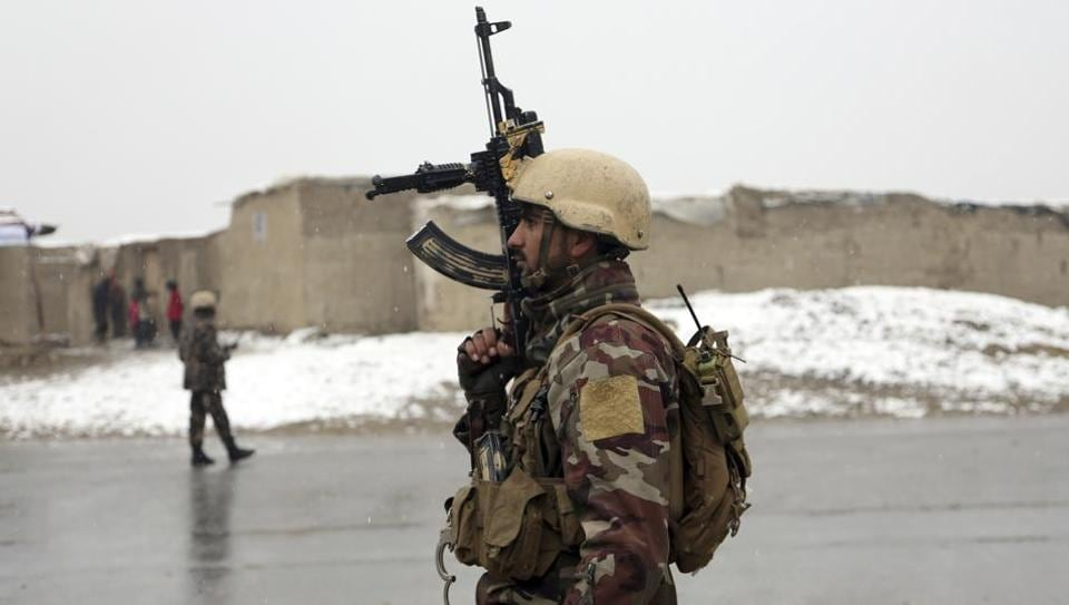 A large number of Taliban fighters assaulted the outpost overnight, police said on Friday.