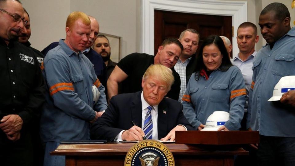 US tariffs,Trump tariffs,Steel traiffs
