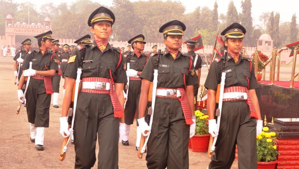 Lady cadets,Haryana,Officers Training Academy
