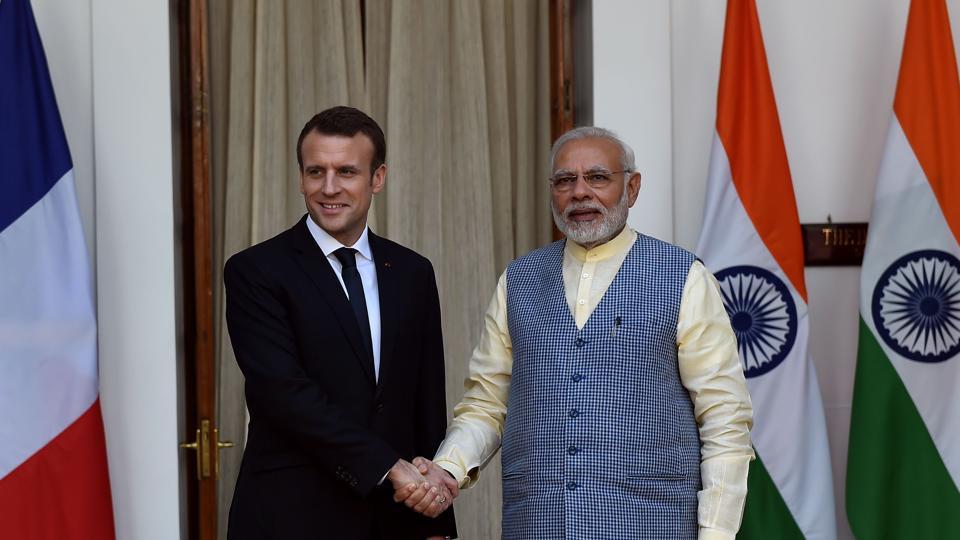 France,Emmanuel Macron,France-India ties