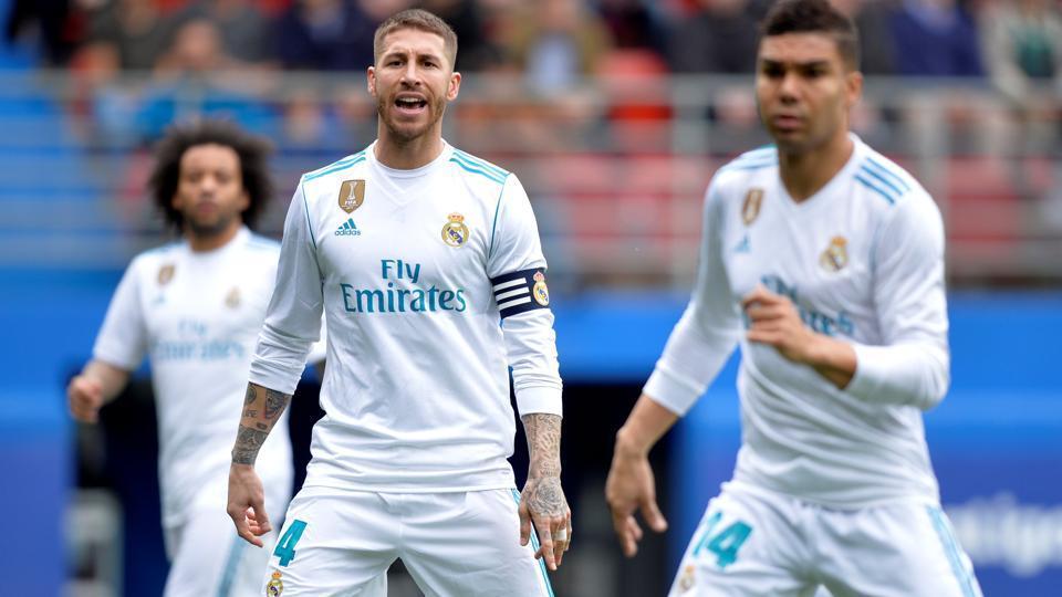 Real Madrid,Sergio Ramos,La Liga