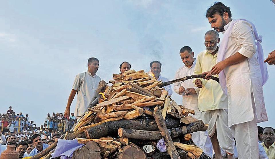 Leader Patangrao Kadam passes away
