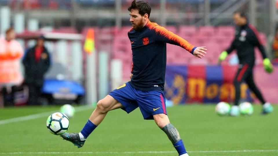 Lionel Messi,Barcelona,La Liga