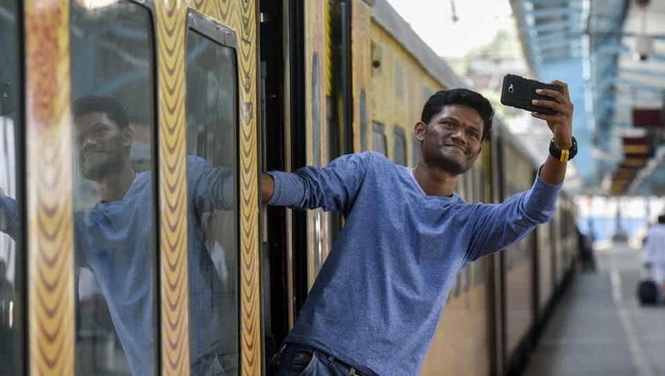 Selfie point,Selfies,Railway stations
