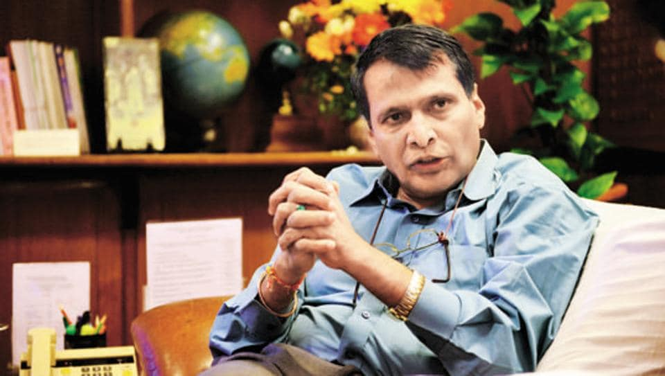 Commerce and Industries minister Suresh Prabhu has been given additional charge of the civil aviation ministry.