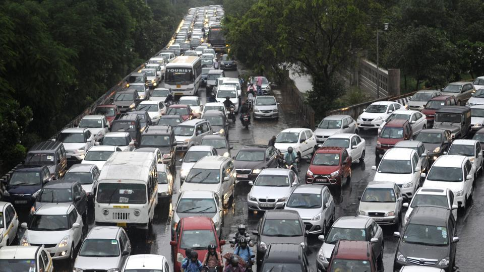 Noida,jam,traffic