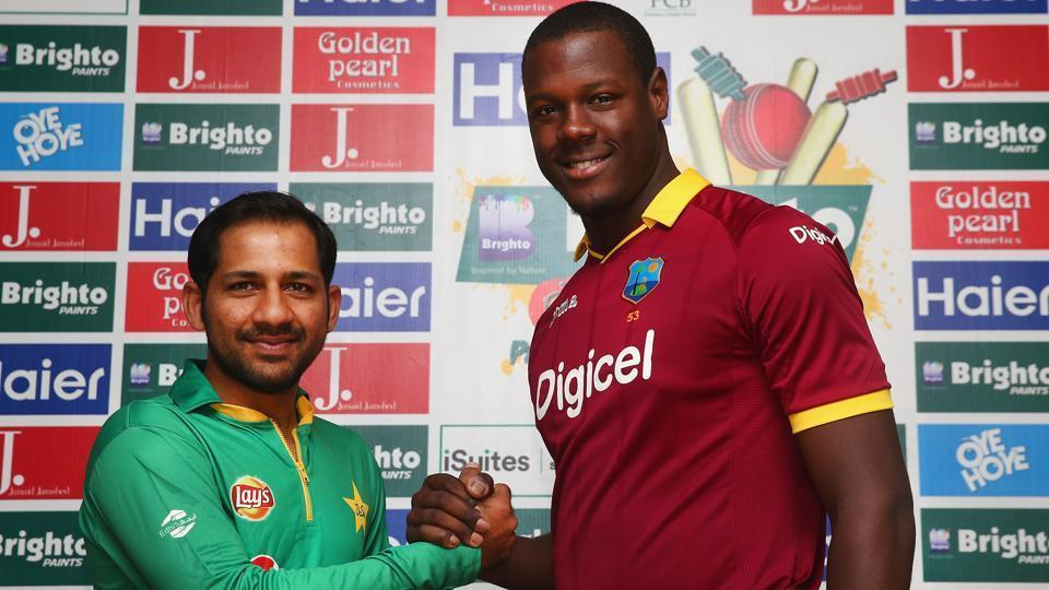 Pakistan and West Indies will play a three-match T20 series in April 2018.