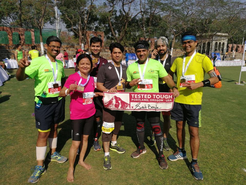 trail running,marathon,aravalli run
