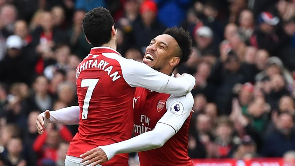 Arsenal ended a run of three successive Premier League defeats as they secured a fine win over Watford.