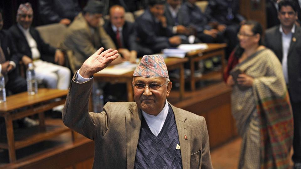 The Madhesi parties' support to K P Oli (in picture) came as a surprise to many, given their past acrimony.