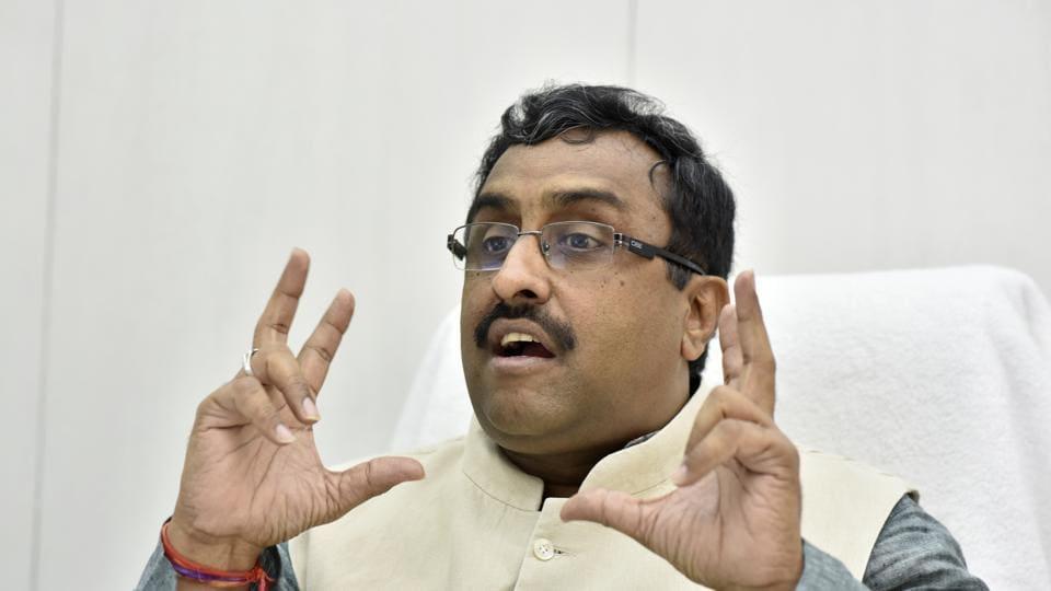 Ram Madhav,BJP,Northeast