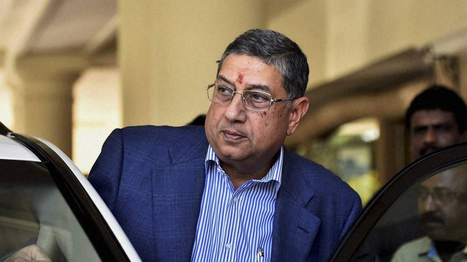 Srinivasan, who also headed the International Cricket Council (ICC) in the past, is scheduled to arrive at ED office at around 2.30pm and the cross examination is likely to continue till 5.30pm.