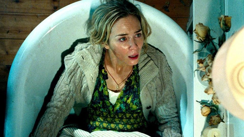 Emily Blunt in a still from A Quiet Place.